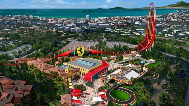 Ferrari Land abrirá sus puertas en abril de 2017 en Tarragona