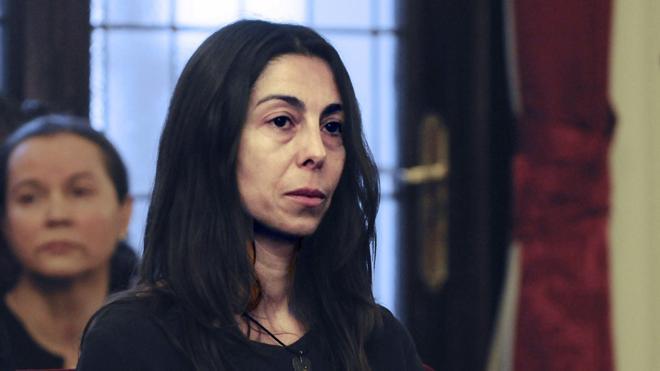 Raquel Gago, condenada a 12 años de prisión como cómplice del asesinato de Carrasco