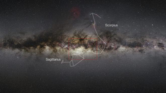 Descubren la versión oscura de la Vía Láctea