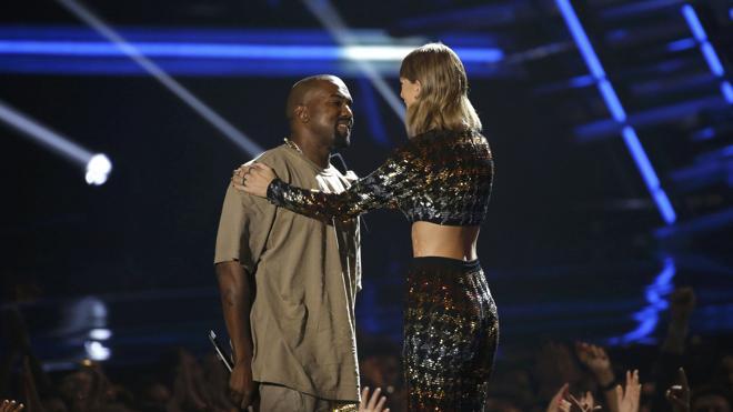 Taylor Swift y Kanye West, ¿juntos en los premios MTV?