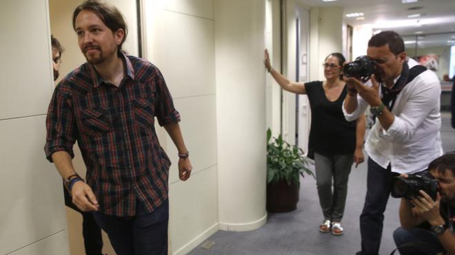 Iglesias prevé propuestas mucho mejores que la de Maestre para Podemos Madrid