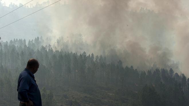 Galicia de nuevo envuelta en llamas