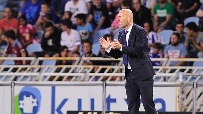 Zidane, rey de 'su' Liga