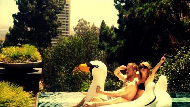 Calvin Harris y Taylor Swift retoman su amistad