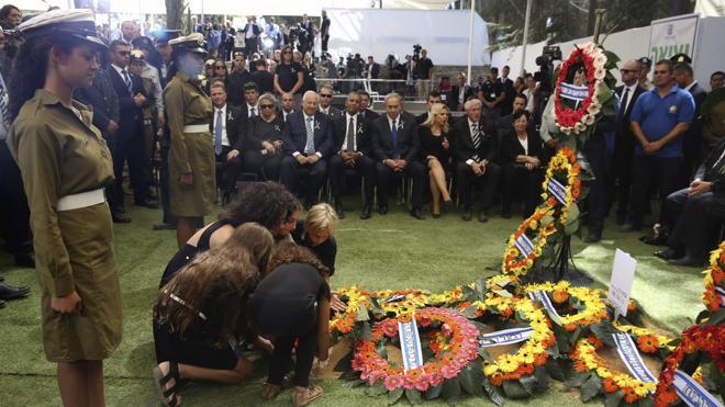 La comunidad internacional despide a Simón Peres