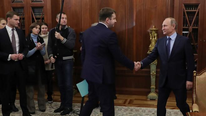Putin sustituye a su ministro de Economía arrestado con el joven viceministro