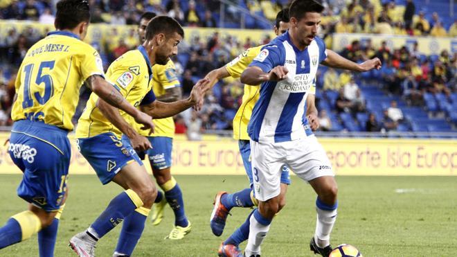 El Leganés rescata un punto de oro ante Las Palmas