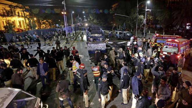 Un atentado en Lahore deja al menos 14 muertos y 94 heridos