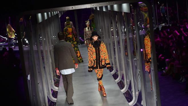 Triunfo de Gucci en Milán por su extravagante desfile
