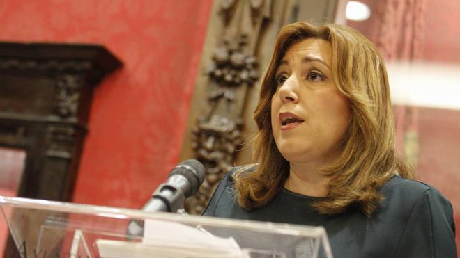 Susana Díaz exige explicaciones por el «atropello» de eliminar «fiscales incómodos»