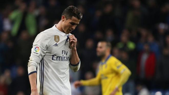 Cristiano no jugará en Eibar