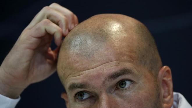 Zidane: «Hay mucha negatividad en torno al Real Madrid»