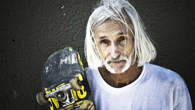 Ser un principiante del 'skate' a los 63 años