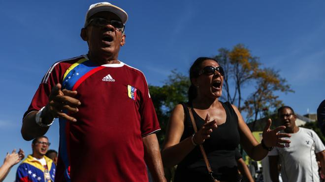 La MUD convoca una manifestación en Caracas en defensa del «orden constitucional»