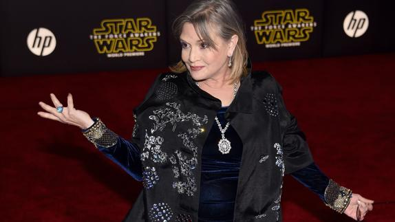 Carrie Fisher./