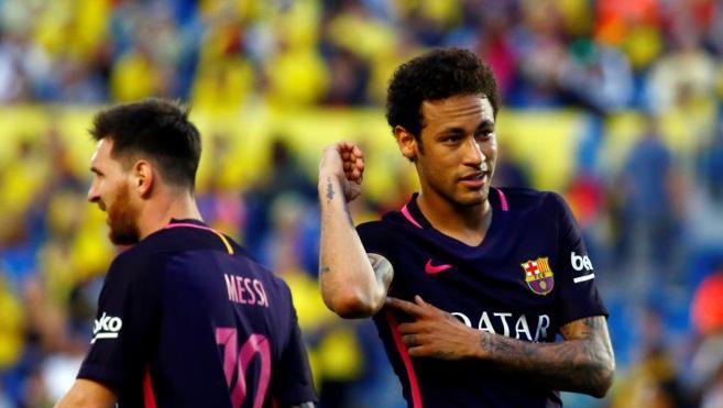 Neymar saca el carácter