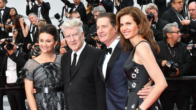 La alfombra roja de Cannes se rinde a los pies de Lynch y MacLachlan