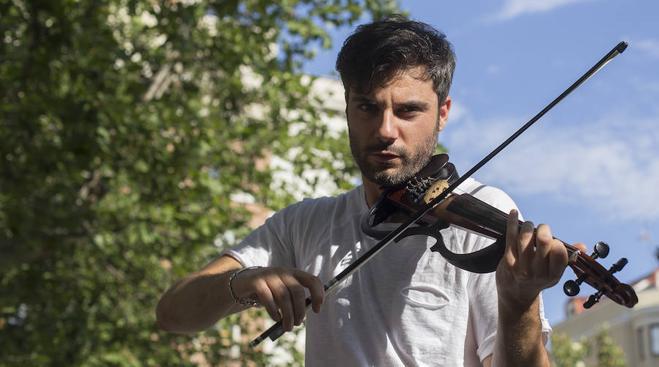 Reguetón para violín eléctrico