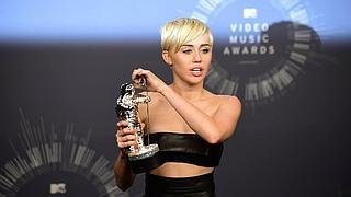 Miley Cyrus reina en los MTV Video Music Awards
