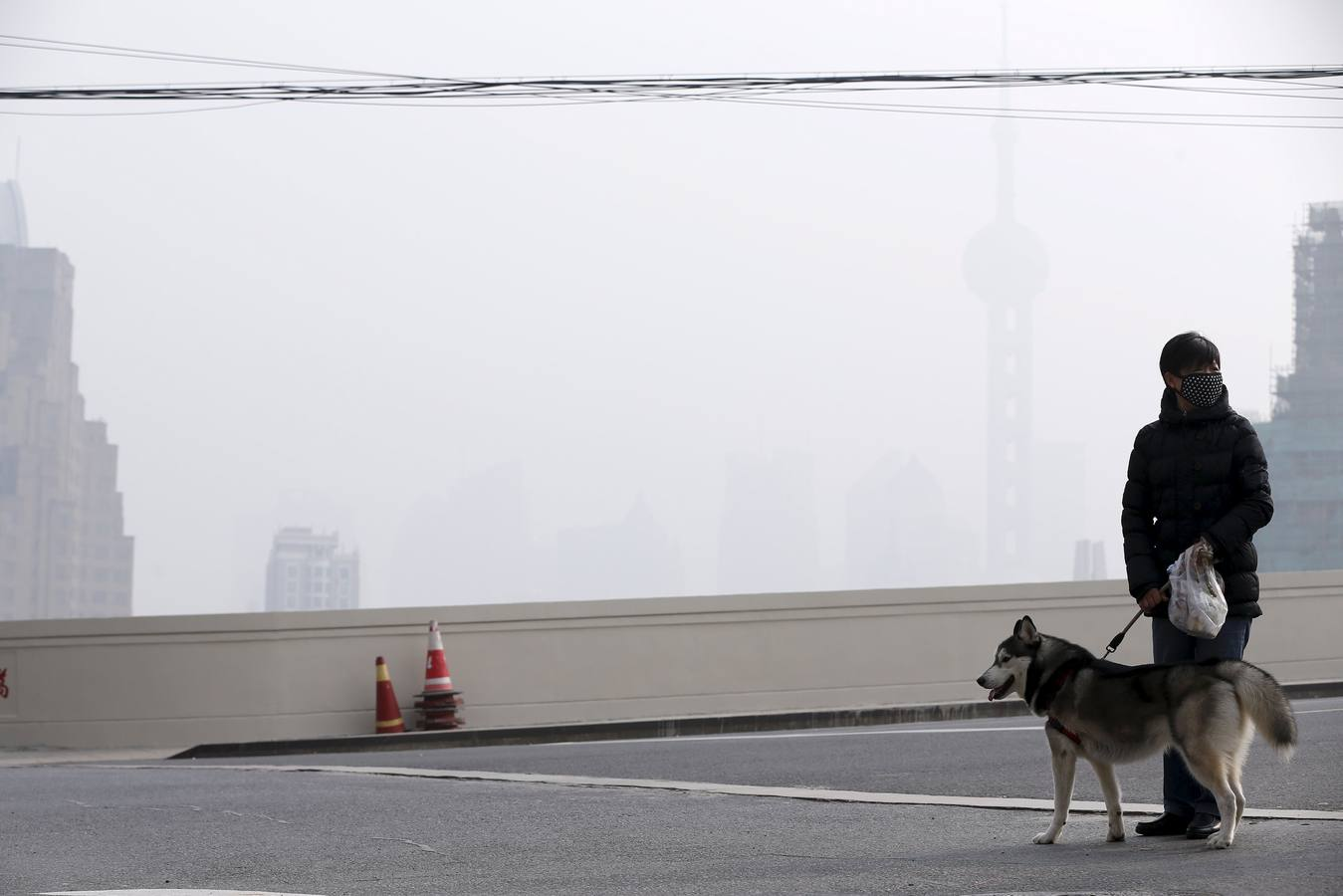 La contaminación en China