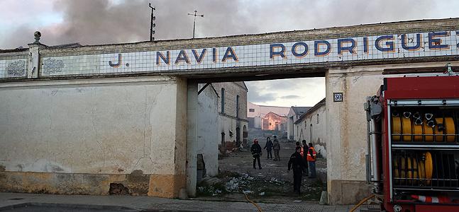Detenido por intentar volver a incendiar la harinera Navia de Almendralejo