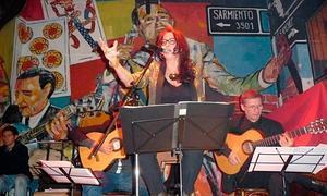 Actuación de Dioni D'Amaral