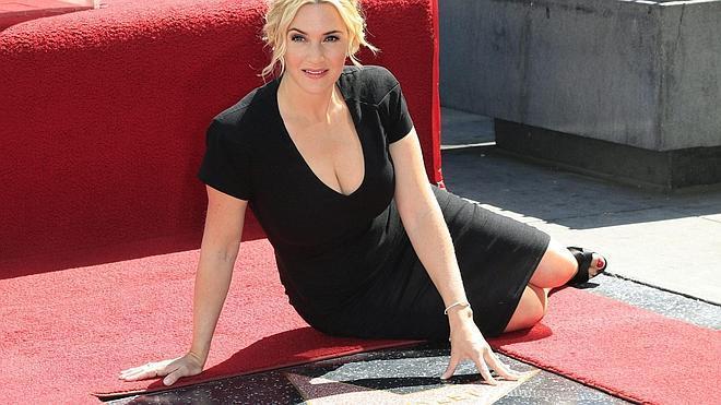 Kate Winslet recibe su estrella en el Paseo de la Fama
