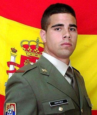 Los restos del soldado Carlos Martínez llegarán a Badajoz esta tarde