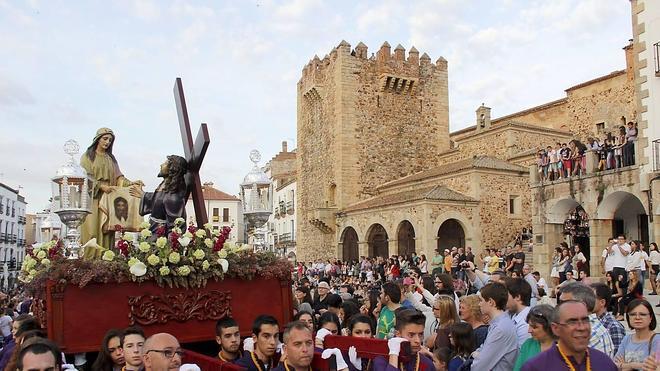Un Domingo de Ramos con gran afluencia de público