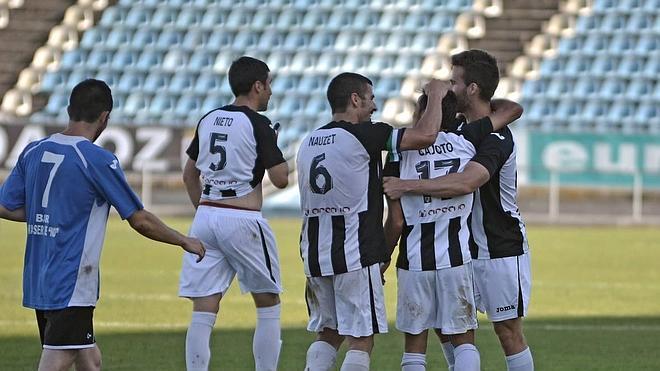 Goleada del Badajoz CF
