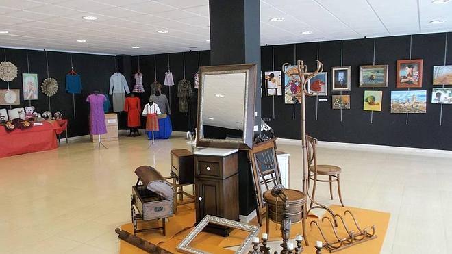 Los trabajos de los alumnos de la Universidad Popular en el Museo