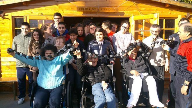 'Aprosuba 4' sensibiliza sobre discapacidad