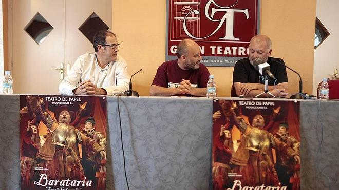 'Barataria, Sancho gobernador' despide el ciclo extremeño del Festival de Cáceres