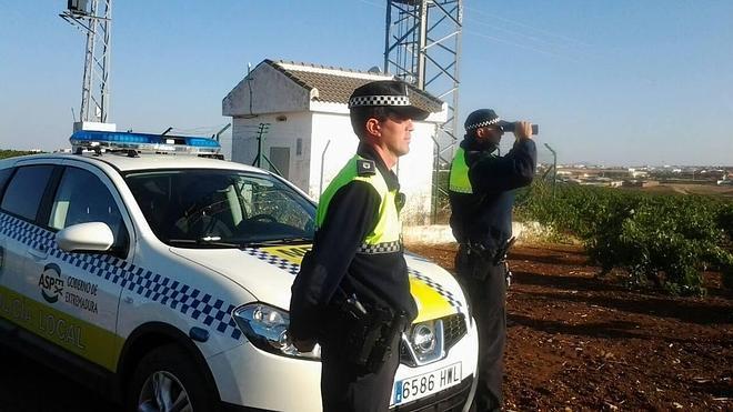 La Policía Local comienza a patrullar los extrarradios