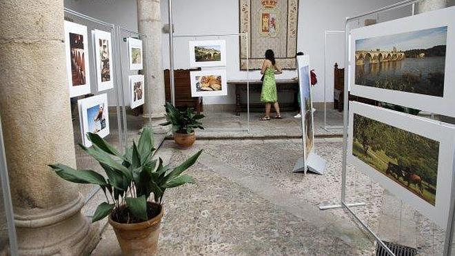 Exposición 'Tajo Internacional y Alqueva' en el Palacio de Carvajal