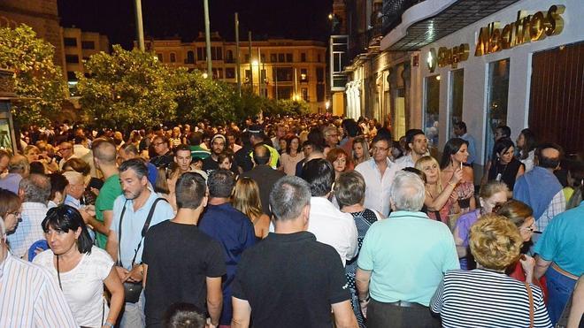 La plaza de España se cierra desde hoy al tráfico para la Noche en Blanco