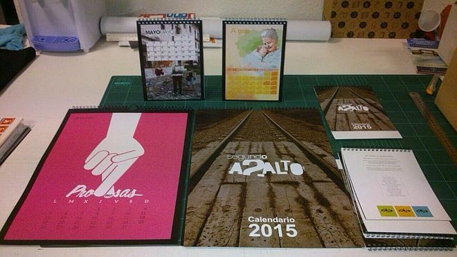 Presentación del calendario solidario de la asociación Segundo Asalto
