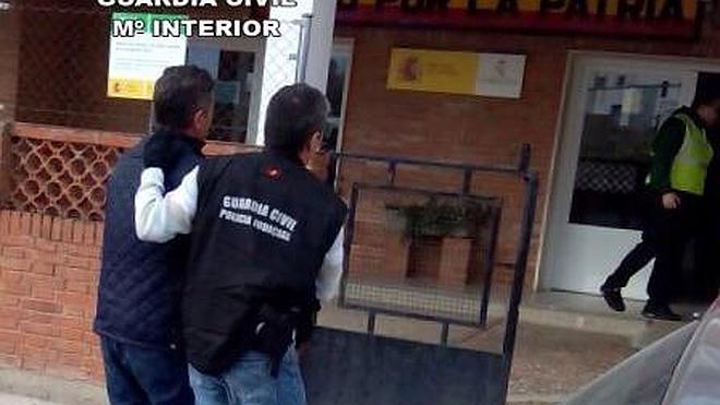 La Guardia Civil desarticula una banda que cometía robos violentos en toda Extremadura