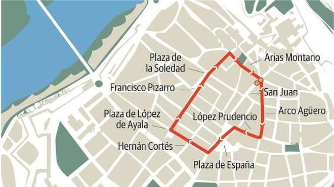 Badajoz se prepara para vivir una 'madrugá' perfecta