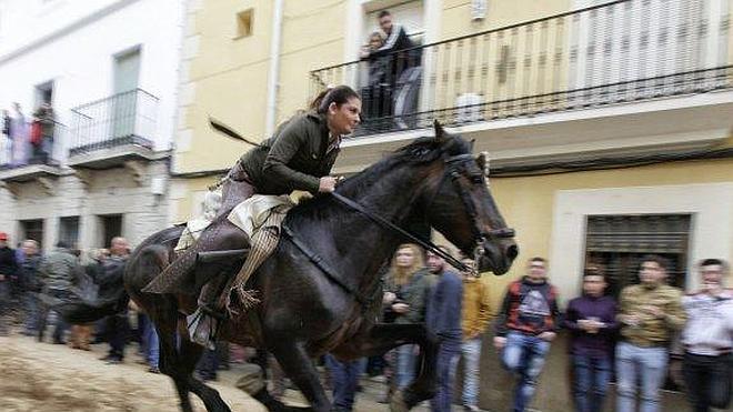 161 jinetes al galope por La Corredera