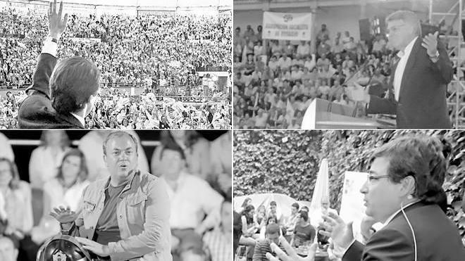Campañas de ayer y de hoy