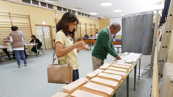 Plasencia: votación tranquila y con menos participación