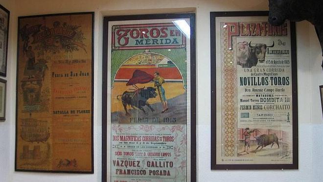 Muestra de carteles taurinos