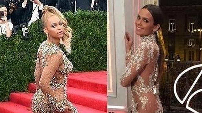 Cristina Pedroche, ¿un calco de Beyoncé?
