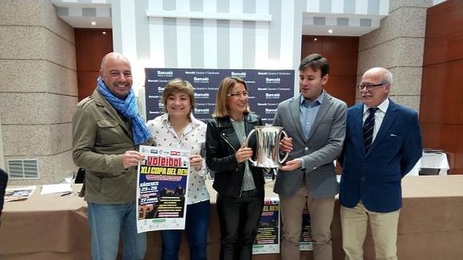 Cáceres ya vela armas para la Copa del Rey de voleibol