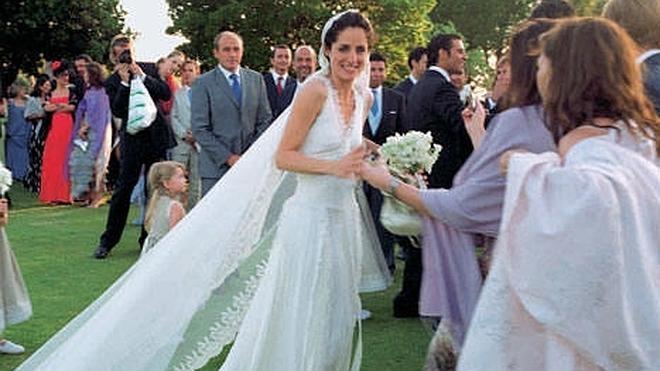 Carolina Herrera y la boda de su hija en Cáceres