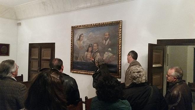 Donan una alegoría de la colonización de México para el futuro museo de Hernán Cortés