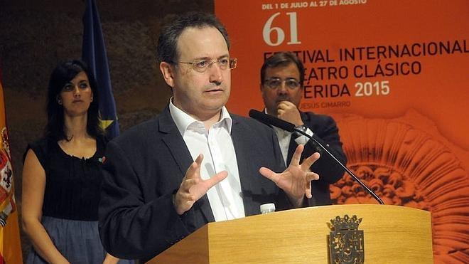 Jesús Cimarro obtiene la mejor puntuación para organizar el Festival de Mérida