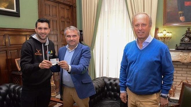Rubén Tanco, sexto olímpico becado por Badajoz