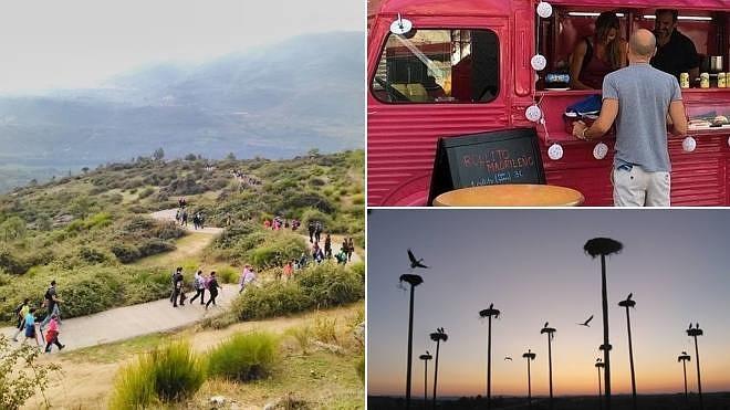 Un finde para andar por la naturaleza y disfrutar de la 'food truck' y el tapeo